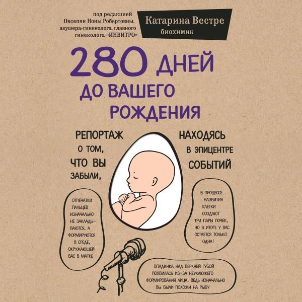 Аудиокнига 280 дней до вашего рождения. Репортаж о том, что вы забыли, находясь в эпицентре событий