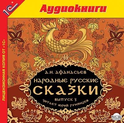 Аудиокнига Народные русские сказки А.Н. Афанасьева. Выпуск 3