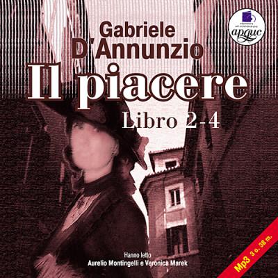Аудиокнига Наслаждение. Книга 2-4. На итал. яз.