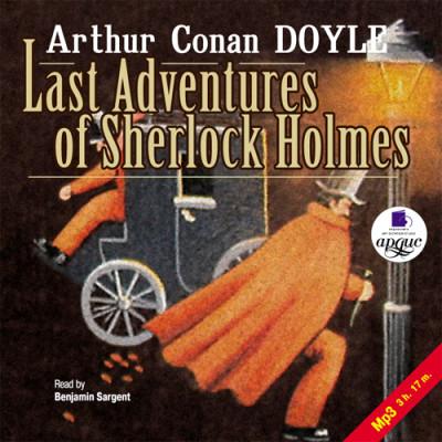 Аудиокнига Последние приключения Шерлока Холмса. На англ. яз.
