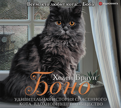 Аудиокнига Боно. Удивительная история спасенного кота, вдохновившего общество